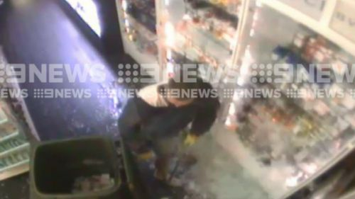 Thousands of dollars of perfume were stolen during the raid. (9NEWS)