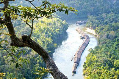 <strong>The River Kwai Jungle Raft Floatel:&nbsp;Kanchanaburi, Thailand</strong>