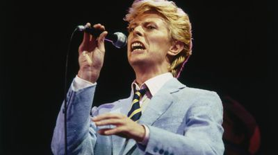 Bowie then re-emerged in 1980 with the hit single Ashes to Ashes, and his popularity reached new heights with the release of the album Let's Dance, which featured the hits Modern Love and China Girl.