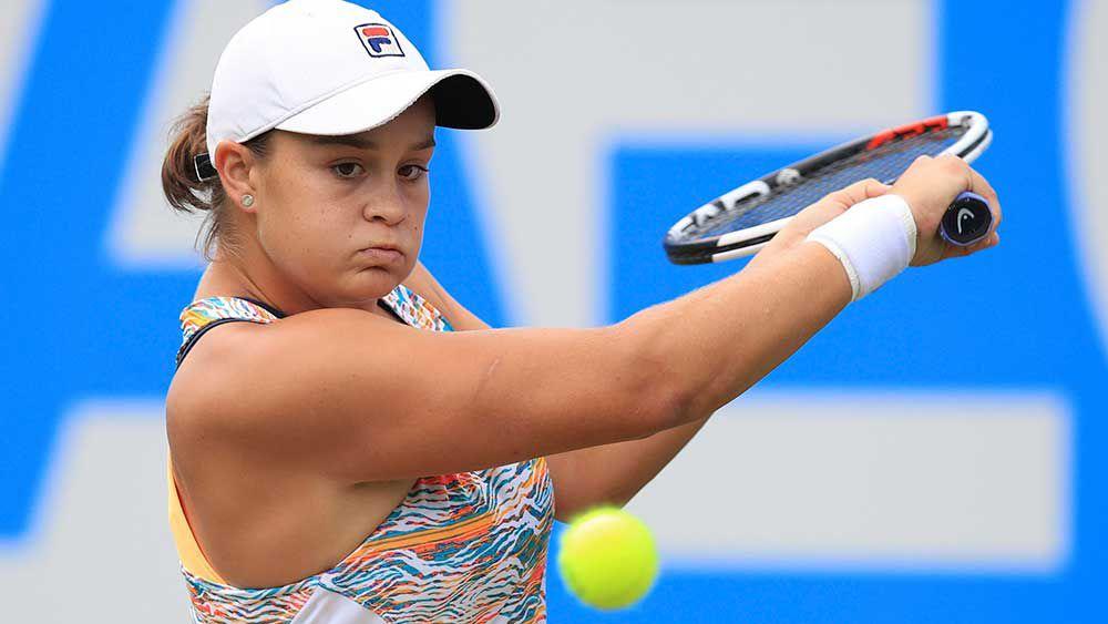 Kvitova, Barty into Birmingham WTA final