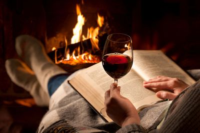 Red wine makes you feel…. relaxed