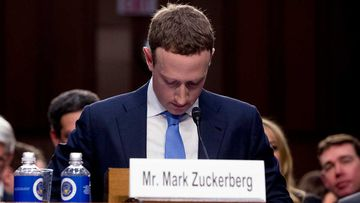 Mark Zuckerberg has been criticised for the decision to ban all Australian news content from Facebook.
