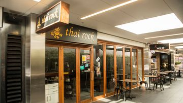The Thai Rock restaurant at Stocklands Mall in Wetherill Park in Sydney's west where there is a growing coronavirus cluster.