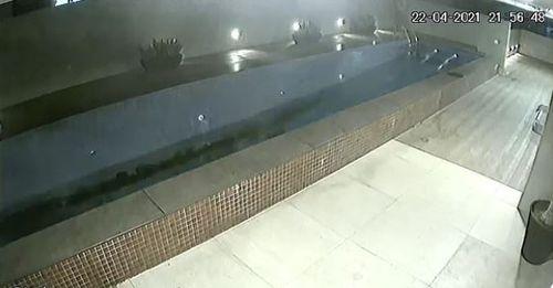 Brazil pool collapse