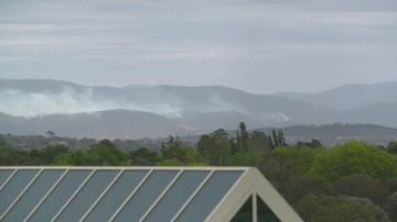 The fire is approximately 115 hectares in size.