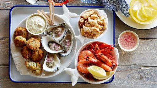 92 percent of couples who ate seafood more than twice a week had conceived within a year.