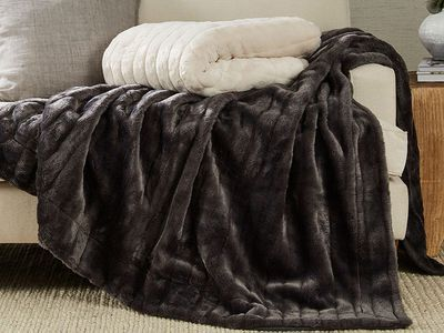 Arctic Fur Throw — Bed Bath N' Table