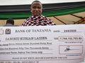 Tanzanian miner strikes it rich again with huge gem find worth $3m