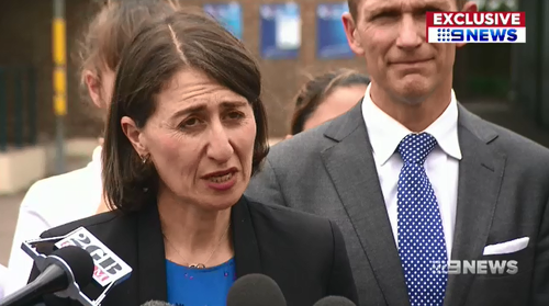NSW Premier Gladys Berijiklian says the nearly completed roadway will mean less time sitting in traffic.