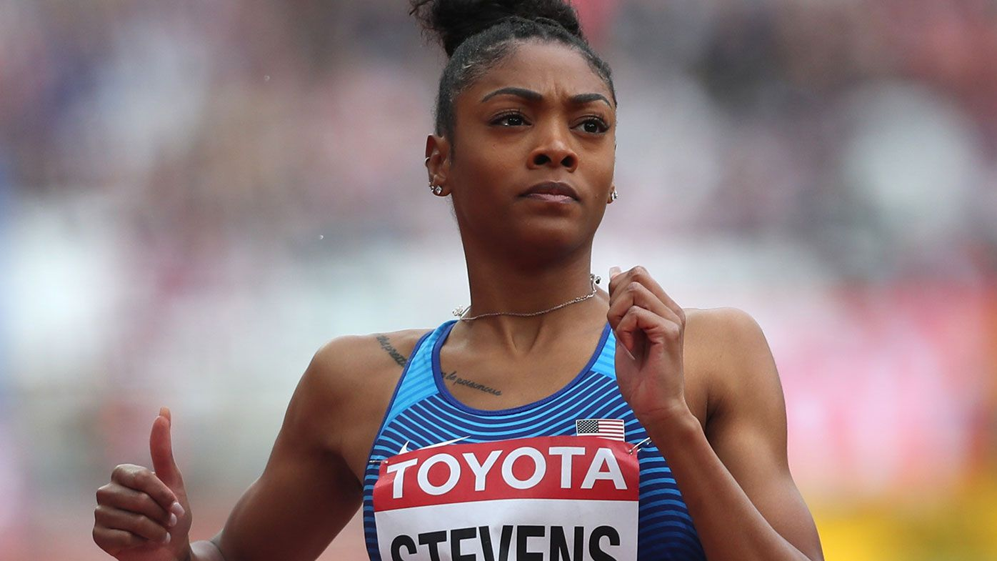 Deejah Stevens has been suspended for 18 months for doping violations.