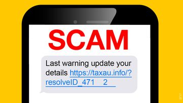The ATO has warned of a new scam sent by text message.