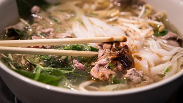See how perfect Vietnamese pho goes from bones to bowl