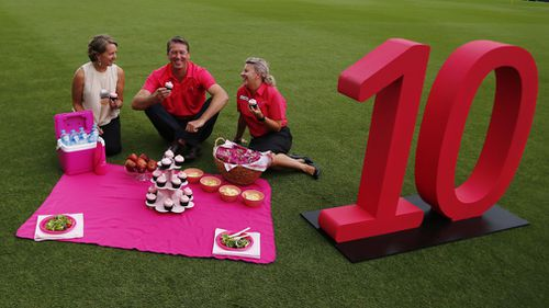 The McGrath Foundation is celebrating ten years' involvement with the SCG Test. (AAP)