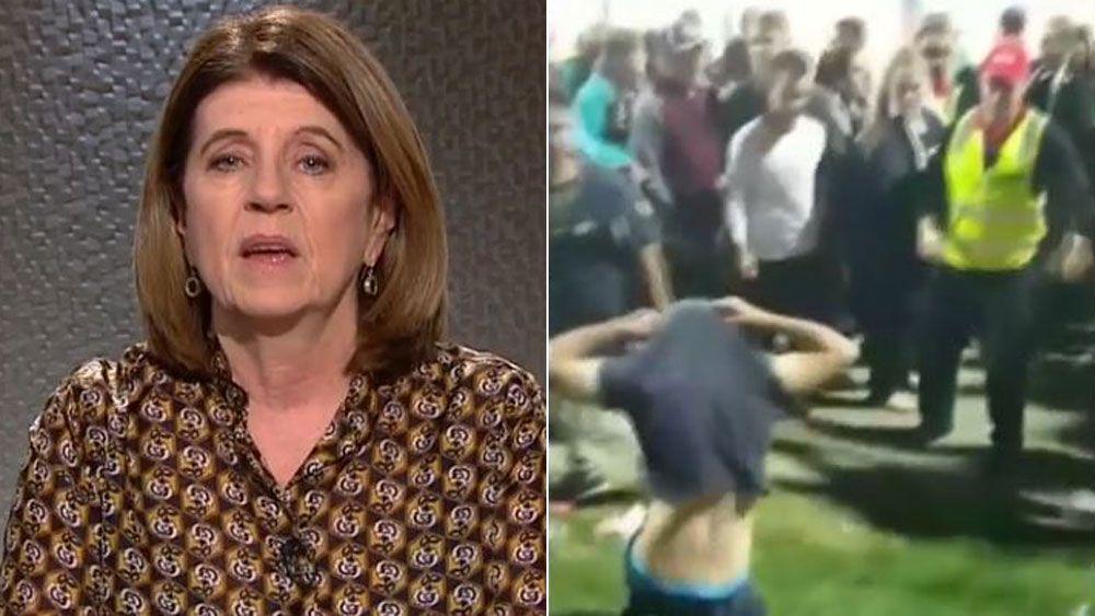 Footy Classifed's Caroline Wilson slams racist behaviour of Port Adelaide and Adelaide fans