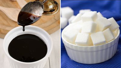 <strong>A tablespoon of rice malt syrup, or a tablespoon of white sugar?</strong>