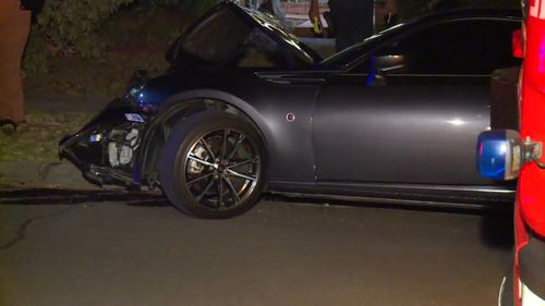 The parked car's owner was watching a movie when the teen allegedly smashed into his vehicle.
