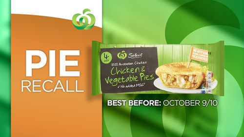 Woolworths recalls pies amid fears they may contain glass fragments