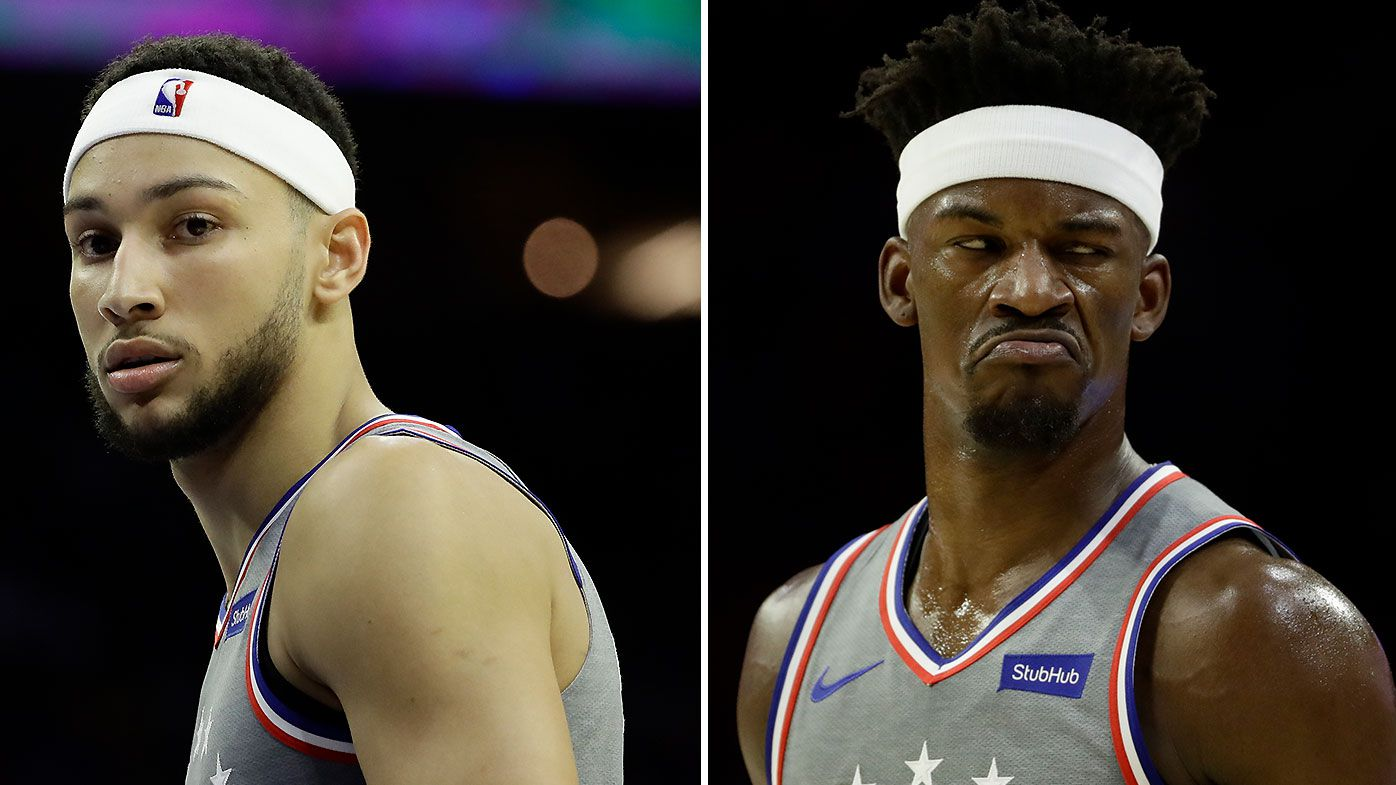 Why Ben Simmons and Jimmy Butler donned headbands during Philadelphia 76ers win
