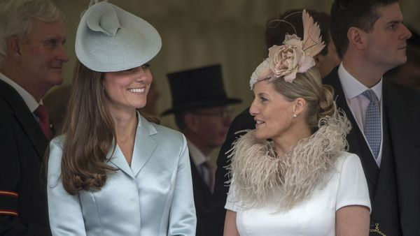 Kate Middleton and Sophie Countess of Wessex