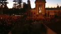 A man has been charged after allegedly carrying an axe at an Anzac Day dawn service in Adelaide.