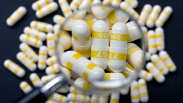 Pills made by the drug company Pfizer.