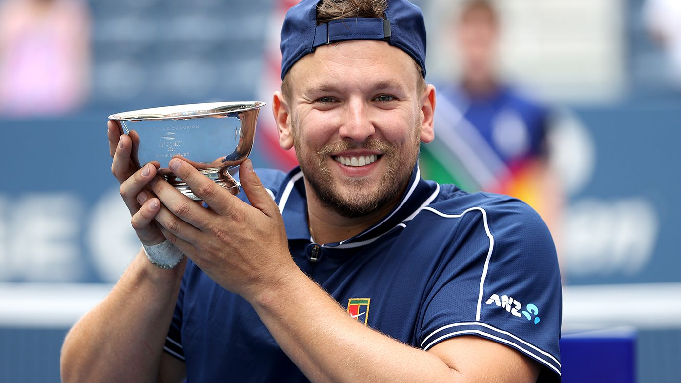 Australia's Dylan Alcott wins US Open title to claim 'Golden Slam' in 2021 with all four majors and gold medal