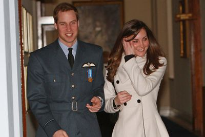By April 2008, she was back on the scene, accompanying William when he received his Royal Air Force wings from dad Prince Charles.