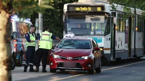 Man killed after being hit by a car in Melbourne's north