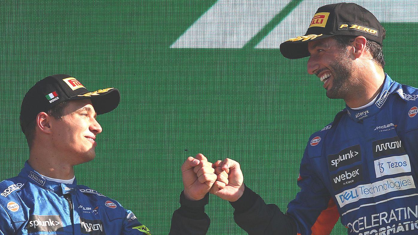 Junior McLaren driver Lando Norris burns teammate Daniel Ricciardo in hilarious Twitter hack