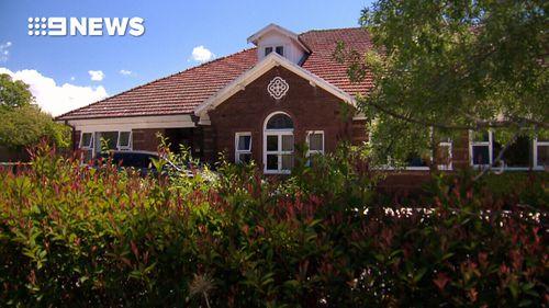 The nursing home where Langlands lives.