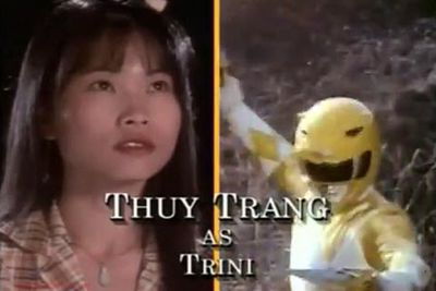 Thuy Trang: The Yellow Ranger/Trini Kwan<br/><br/>Image: Saban Entertainment