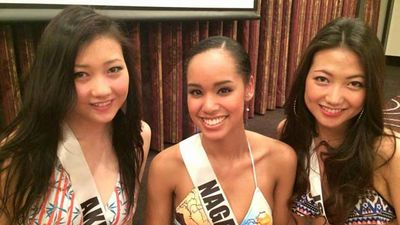 "<p _tmplitem=""1"">A half-Japanese, half-African-American woman has been crowned the new Miss Universe Japan and some people in the Land of the Rising Sun are not happy about it. </p><p _tmplitem=""1""> Ariana Miyamoto (pictured in the centre) was born and raised in Nagasaki and is fluent in Japanese language and customs, but some critics think the bi-racial beauty does not look Japanese enough. </p><p _tmplitem=""1""> </p>"