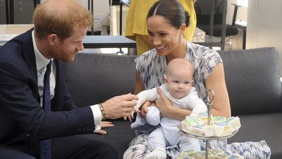 Archie makes his Royal Tour debut, Sept 2019