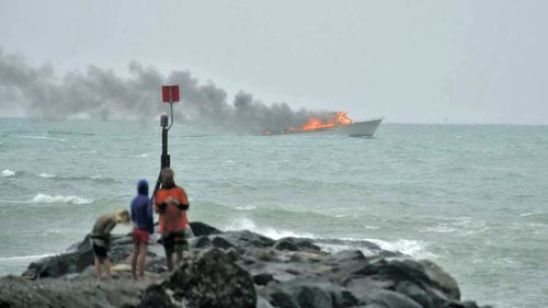 Marshall-Inman pulled Australian tourists Brendan Paterson and his son Elliot out of the water when their White Island tour boat caught fire on the way back to shore in January 2016.