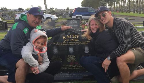 The Ponga family believe Kacey will be on the field with Kalyn tonight. Image: Facebook