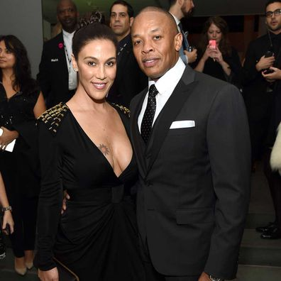 Nicole Young and Dr Dre.
