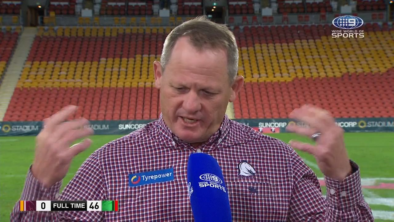 Wayne Bennett's classic response when asked if he has advice for Brisbane coach Kevin Walters