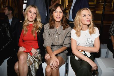 Ellie Goulding, Alexa Chung and Kylie Minogue at Stella McCartney Spring/Summer'18