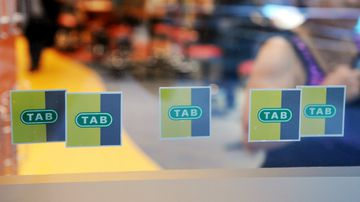 Tabcorp has been fined $45m for breaching anti-money laundering laws. (AAP)