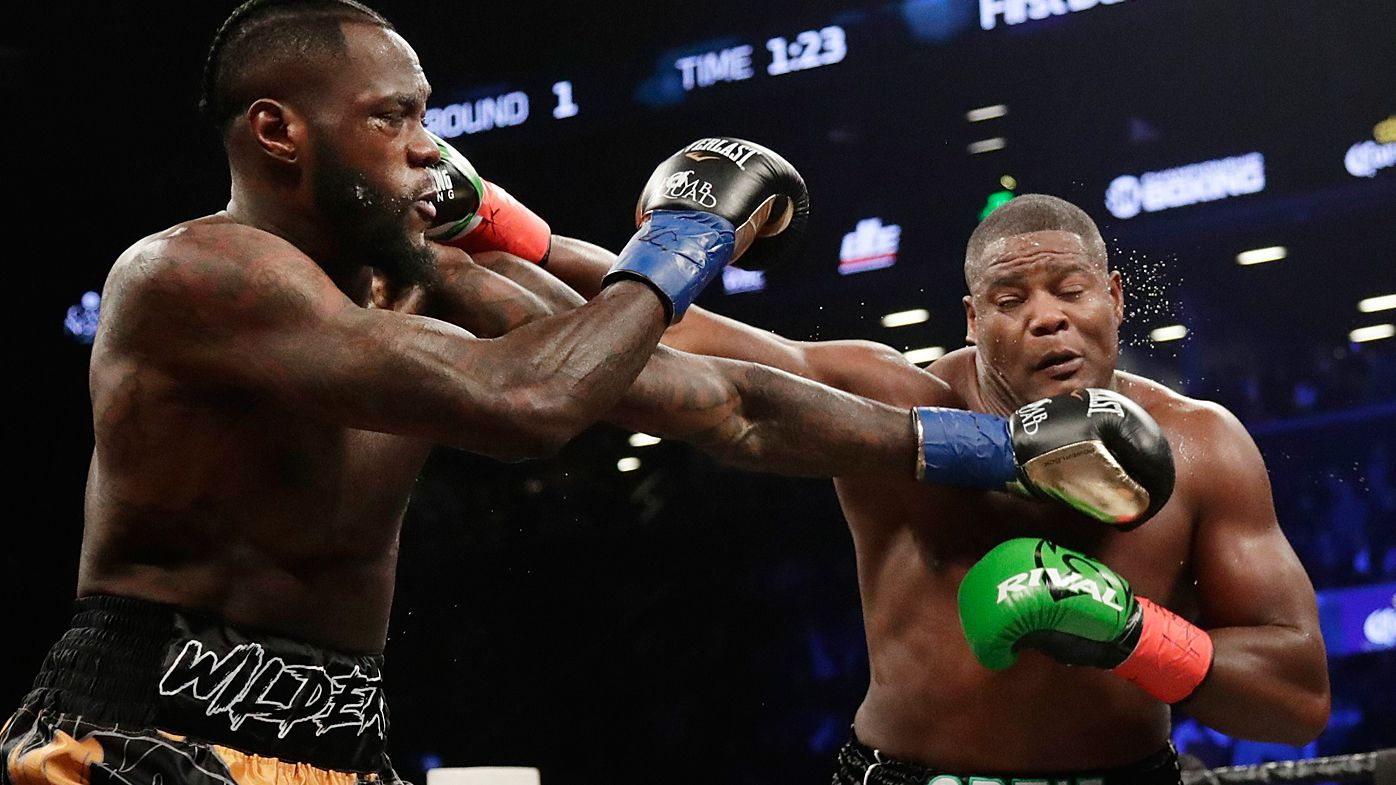Boxing: Deontay Wilder defeats Luis Ortiz in 10th round knock-out to defend WBC heavyweight title