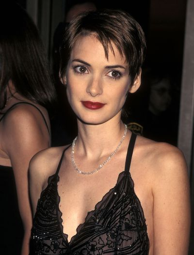 <p>Pixie Cut</p> <p>Muse- Winona Ryder pictured in 1998</p>