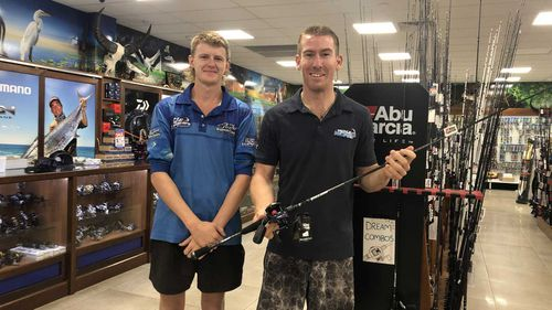 Harry Sutcliffe-Woelders and Shane Compain chased down and conducted a citizen's arrest on some shoplifters.