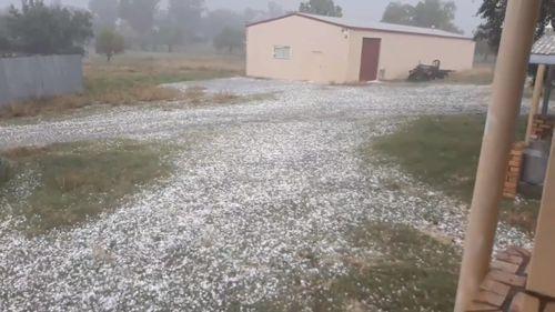 Queensland NSW severe storms October 28, 2020.