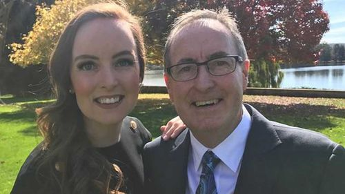Pippa Bradshaw's father died earlier this year after a battle with brain cancer.