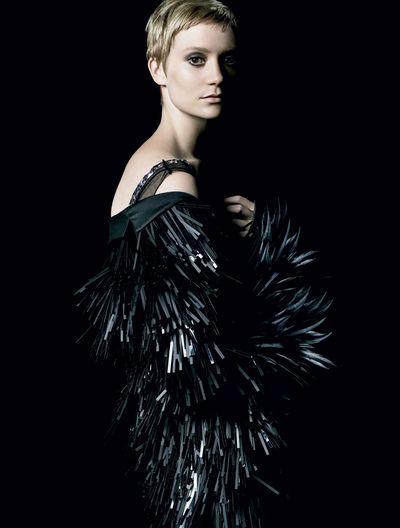 Mia Wasikowska for La Femma Prada.