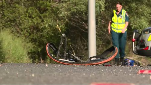 Cyclist killed in collision with ute on Sunshine Coast