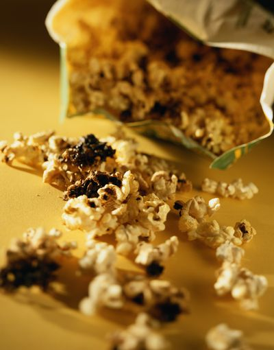 Not one that usually would make the list, but if you've ever burnt popcorn you will know what we are talking about.