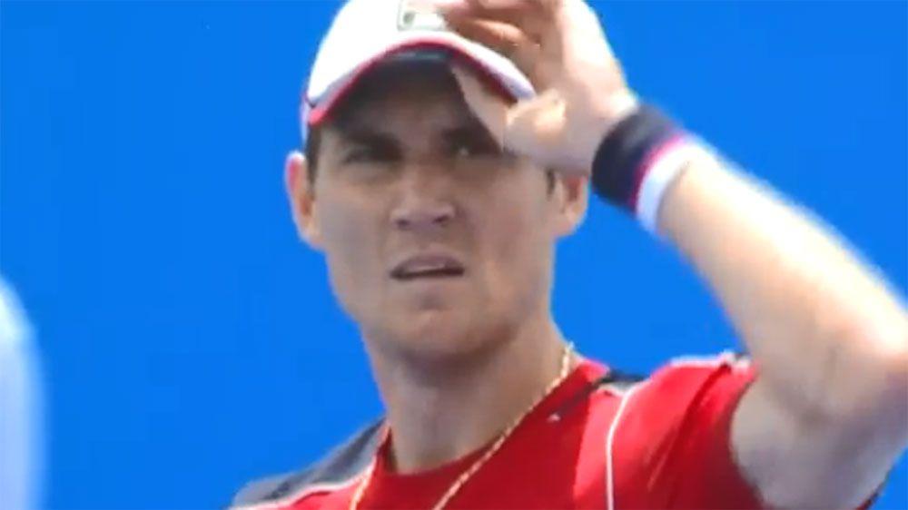 Australian Matthew Ebden upsets world No.6  Marin Cilic at Kooyong