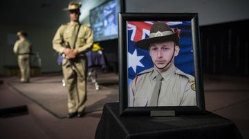 Jason Challis was killed during a training exercise in the Northern Territory last year.