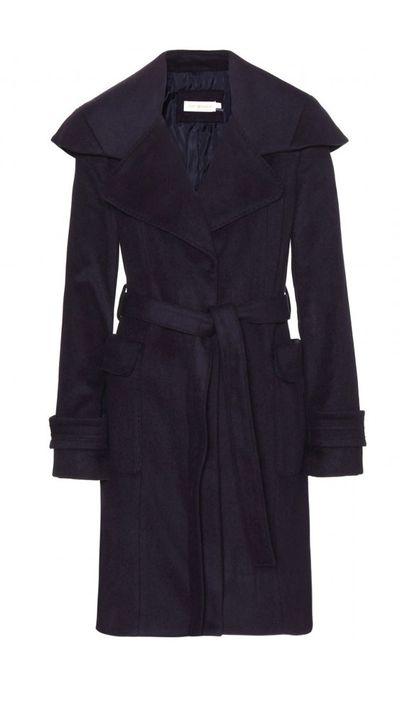 "<a href=""http://www.mytheresa.com/en-au/heidi-wool-coat.html"">Heidi Wool Coat, $989, Tory Burch</a>"